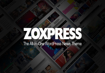 ZoxPress - The All-In-One WordPress News Theme