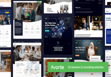 Avante | Business Consulting WordPress