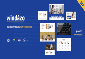 Windazo - Plastic Windows and Doors WordPress Theme