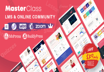 MasterClass - LMS & Education WordPress Theme