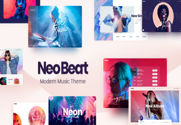 NeoBeat - Music WordPress Theme