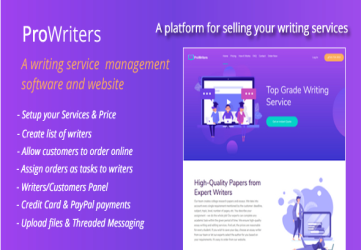 ProWriters - Sell writing services online