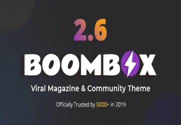 BoomBox — Viral Magazine WordPress Theme