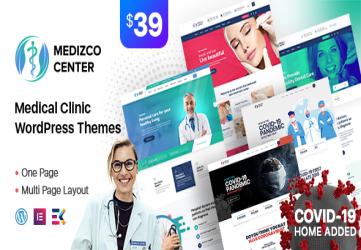 Medizco - Medical Health & Dental Care Clinic WordPress Theme