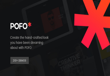 Pofo - Creative Portfolio and Blog WordPress Theme