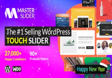 Master Slider - Touch Layer Slider WordPress Plugin
