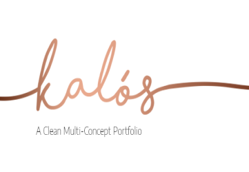 Kalόs - Portfolio WordPress Theme