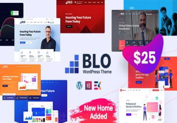 BLO - Corporate Business WordPress Theme