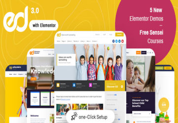 Ed School: Education WordPress Theme