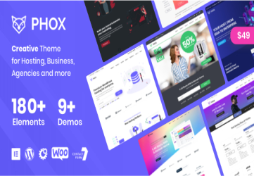 Phox - Hosting WordPress & WHMCS Theme