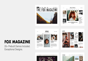 The Fox - Minimal WordPress Blog Magazine Theme