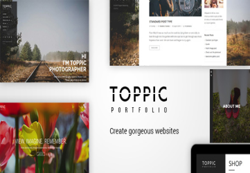 TopPic - Portfolio Photography Theme