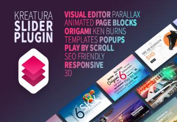 Kreatura Slider Plugin for WordPress