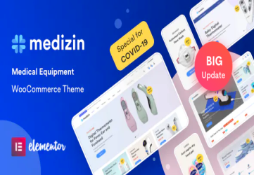 Medical Elementor WooCommerce Theme - Medizin