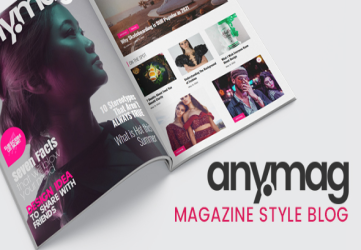 Anymag - Magazine Style WordPress Blog