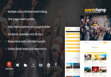 Multiple Event & Conference