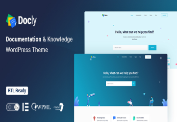 Docly - Documentation And Knowledge Base WordPress Theme with bbPress Helpdesk Forum