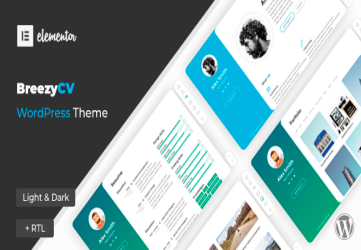 BreezyCV - CV Resume Theme