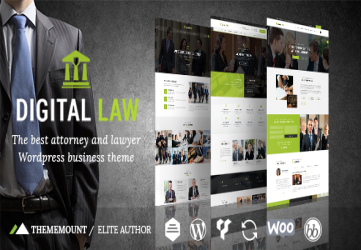 Digital Law | Attorney & Legal Advisor WordPress Theme