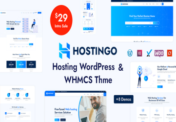 Hostingo - Hosting WordPress & WHMCS Theme