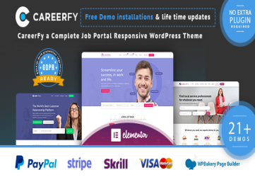 Careerfy - Job Board WordPress Theme