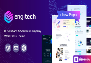 Engitech - IT Solutions & Services WordPress Theme