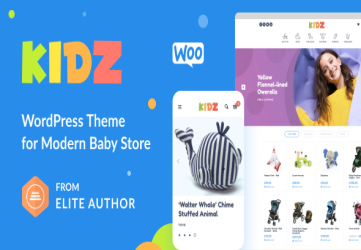 KIDZ - Baby Shop & Kids Store WordPress WooCommerce Theme
