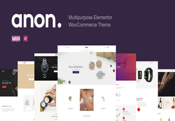 Anon - Multipurpose Elementor WooCommerce Themes