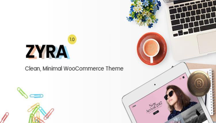 Zyra – Clean, Minimal WooCommerce Theme