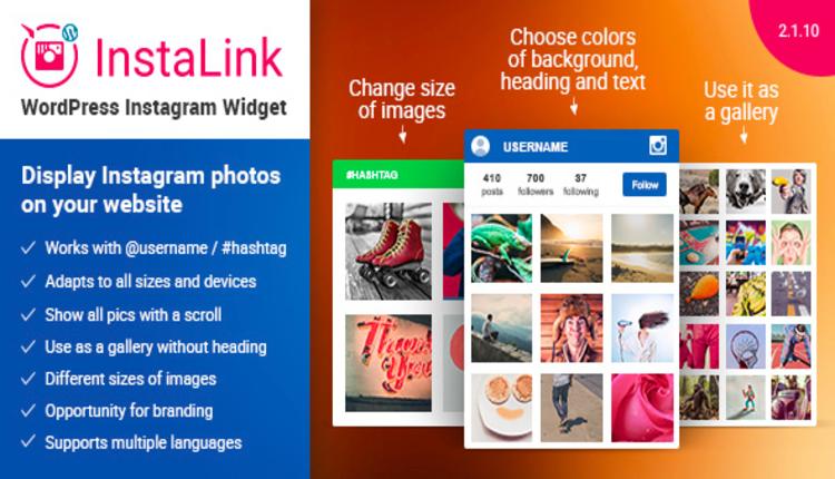 Instagram Widget – WordPress Instagram Widget
