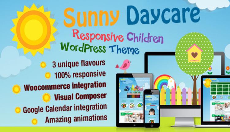Daycare - Kindergarden WordPress Theme