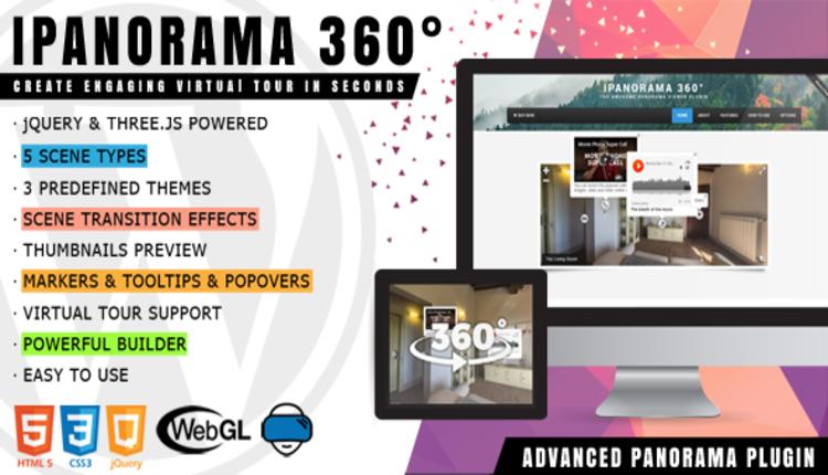 iPanorama 360 - Virtual Tour Builder for WordPress