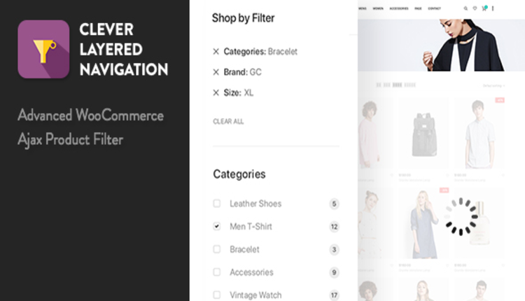 Clever Layered Navigation - WooCommerce Ajax Product Filter