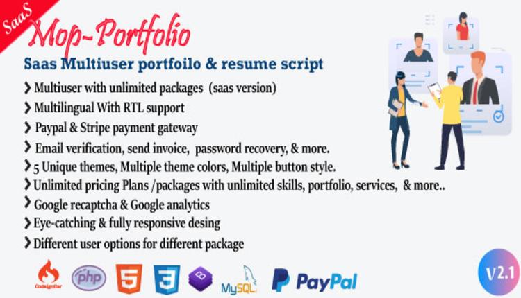 Mob - My Portfolio / CV / Resume / vCard