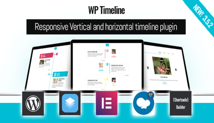 WP Timeline – Vertical and Horizontal timeline plugin