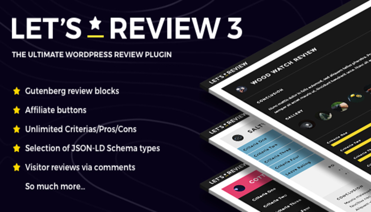Let's Review WordPress Plugin With Affiliate Options