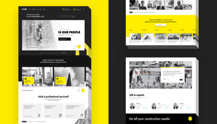 Hank - Construction WordPress theme