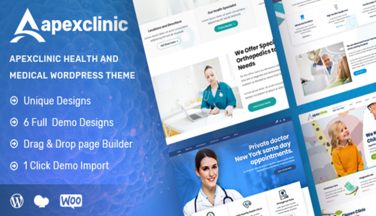 ApexClinic - Health & Clinic Theme