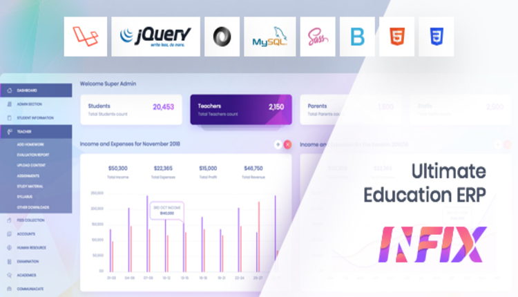 InfixEdu - School Management System Software