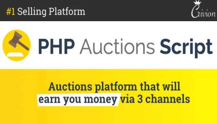 PHP Auctions Script