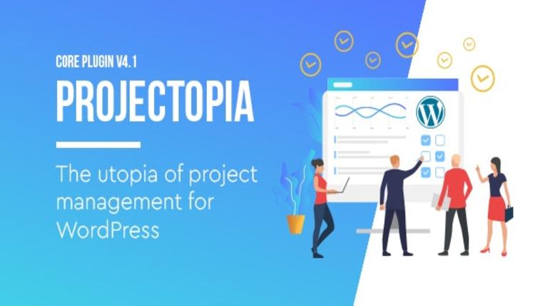 Projectopia - WordPress Project Management Plugin