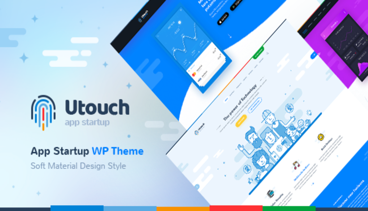 Utouch - Multi-Purpose Business and Digital Technology WordPress Theme