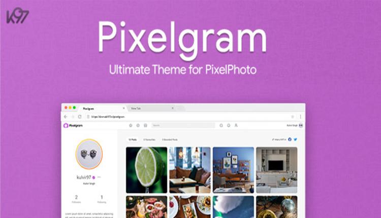 Pixelgram - The Ultimate PixelPhoto Theme
