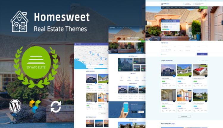 HomeSweet - Real Estate WordPress Theme