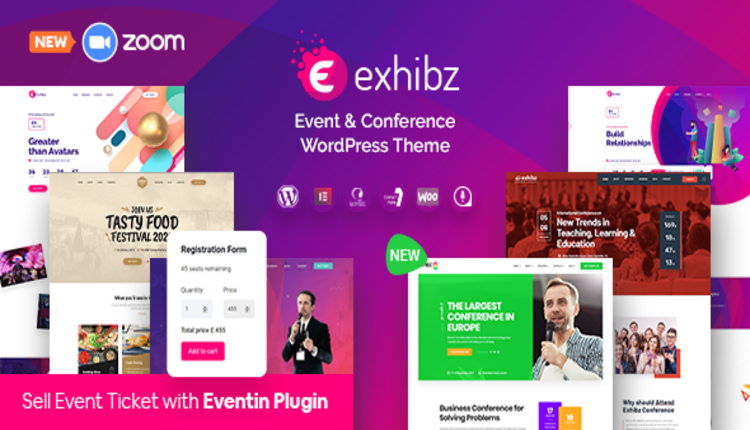 Exhibz | Event Conference WordPress Theme