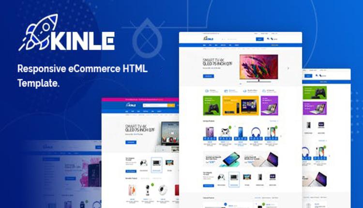 Kinle - Responsive eCommerce HTML Template
