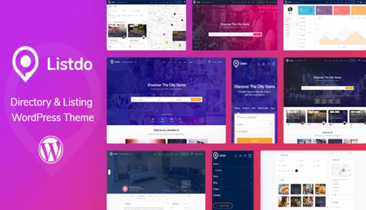 Listdo - Directory Listing WordPress Theme
