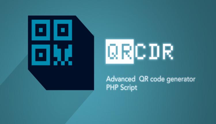 QRcdr - responsive QR Code generator