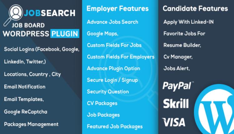 JobSearch WP Job Board WordPress Plugin