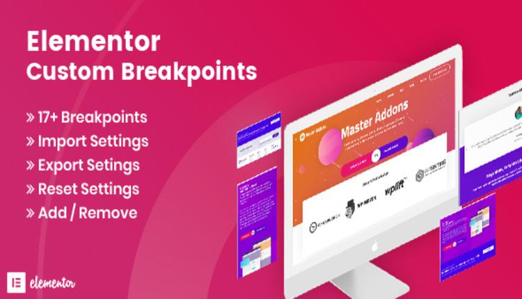 Elementor Custom Breakpoints